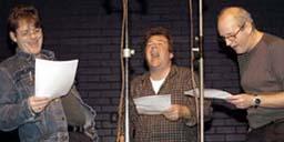 In het eerste stuk moeten we even...    Vraag me niet...   Het tweede stuk herhalen...    Gewoon even zingen...   Wacht even ho, ho...   In G graag...   Nu!